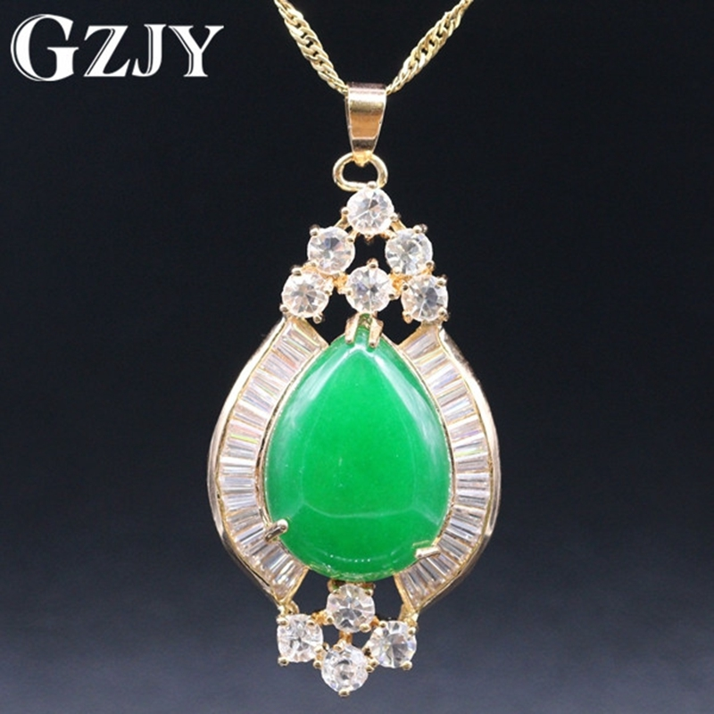 Aliexpress Com Buy Classic Style Green Stone Crystal