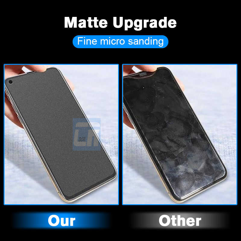 No Fingerprint Full Matte Tempered Glass for Huawei Nova 4 3 3i Mate 20 X 10 P20 Pro P10 Plus Honor 8X Max Screen Protector Film