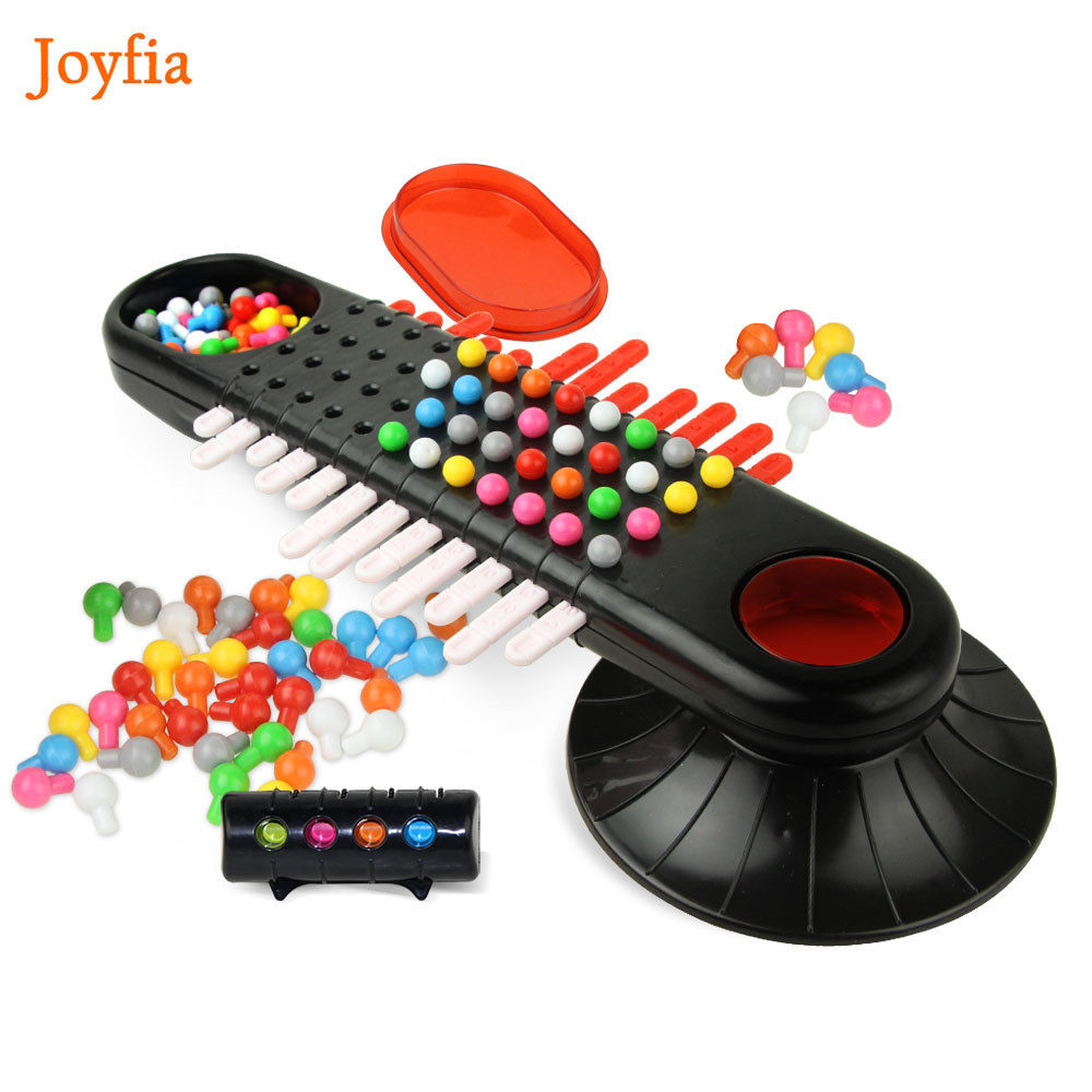Bead Puzzle Toys Mastermind Parent-child Interaction Game Codemaker Board  Game Code Cracking Game kids Family Challenging Game ]