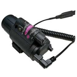 Открытый Охота 2in1 Тактический фиксированный фокус Cree светодиодный фонарик/свет + красный лазер/прицел Combo