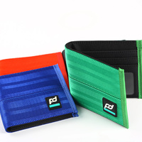 JDM Car Auto Wallet Money Purse Clip Racing Seat Fabric Leather Canvas Key Case Fit For
