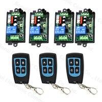 AC 220V RF Wireless Remote Switch Remote Control Switch Remote Plug 1CH Receiver Transmitter 315MHZ 433MHZ