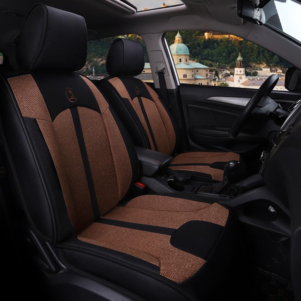 Car Seat Cover Auto Seats Covers Interior Accessories for mitsubishi outlander 3 xl pajero 2 3 4 sport opel vectra a b c