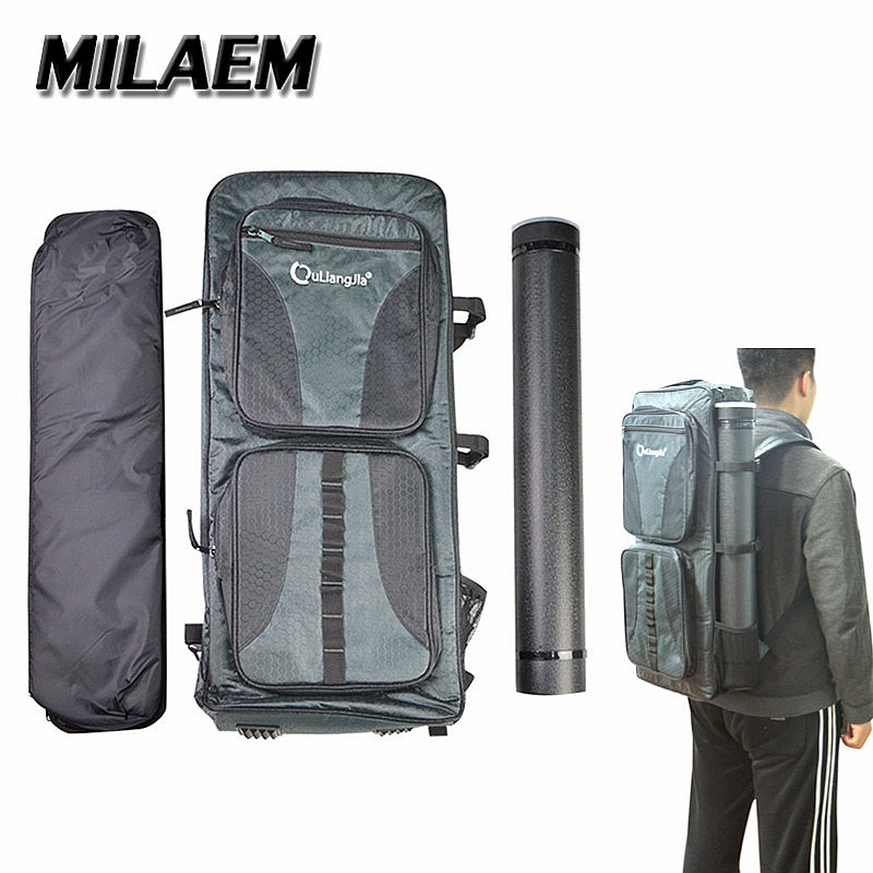 1Set Archery Tactical Backpack Bow Bag Back Pack Bag Case Pouch Holder For Recurve Bow Outdoor Hunting Shooting Accessories dmar archery quiver recurve bow bag arrow holder black high class portable hunting achery accessories