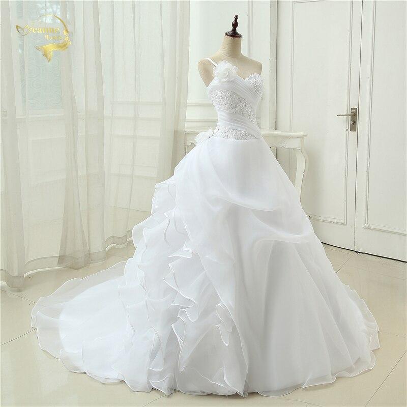 Vestido De Noiva Μια γραμμή ένα βραχιόλι - Γαμήλια φορέματα - Φωτογραφία 4