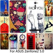 "Phone Case For ASUS Zenfone2 Zenfone 2 ZE500CL 5.0"" Classic Eiffel Tower Sweet Home Dream Girl Dreamchatcher Case Cover Shell"