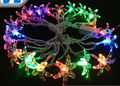 [Seven Neon]Free shipping 110V/220V six leaf clover shape 4M 20leds party/Christmas/decoration/holiday led string light