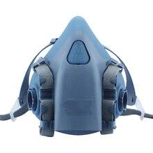 7502 Respirateur Masque À Gaz Corps Chimique Masques Filtre À Poussière Poussière de Peinture Aérosol Chimique Gaz Masque La Moitié du visage Masque, Construction/minière