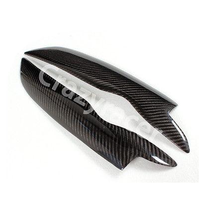 Phare Couvercle Paupière Sourcil Pour VW Golf MK5 05-07 En Fiber De Carbone
