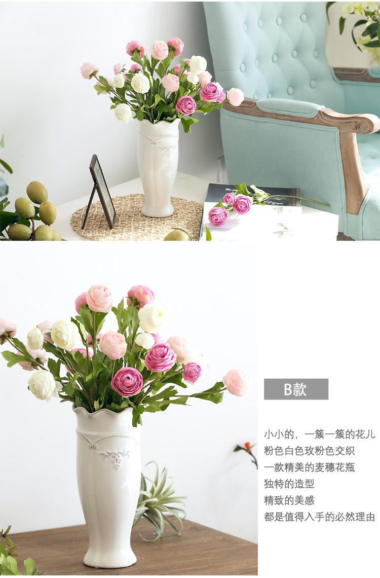 roses artificial flowers home decor (1)