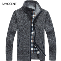 Осень-зима 2019, мужской свитер, пальто из искусственного меха, шерстяной свитер, куртки, мужское трикотажное пальто на молнии, теплое Повседн...