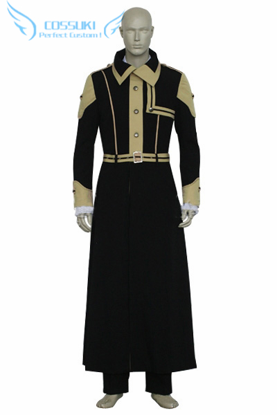 Newest High Quality D Gray Man General Cross Marian Order Uniform Cosplay Costume Perfect Custom For