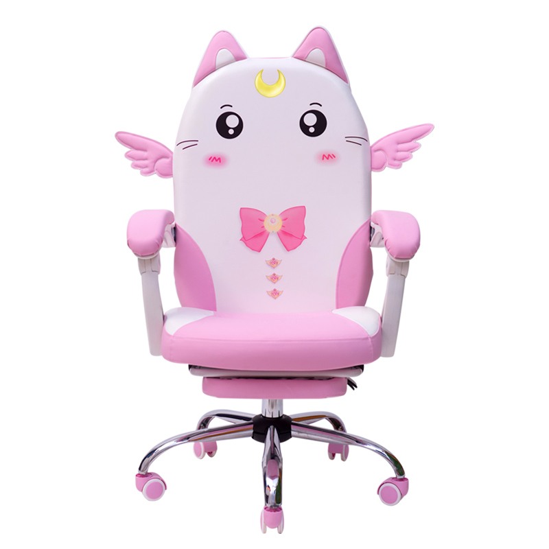 Pink European Colour Lovely Main Sowing Household Dormitory Modern Concise Student Direct Seeding Game Chair(China)
