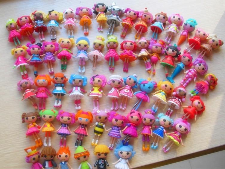 2013 new 8cm 2inch 8pcs 1lot original MGA mini Lalaloopsy Doll gift for child child toys