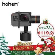 Hohem XG1 носимых Gimbal Bluetooth Управление 3 оси стабилизатор для GoPro 7 6 4/5/сеанса Yi 4k Lite/SJCAM действие Камера vs WG2X