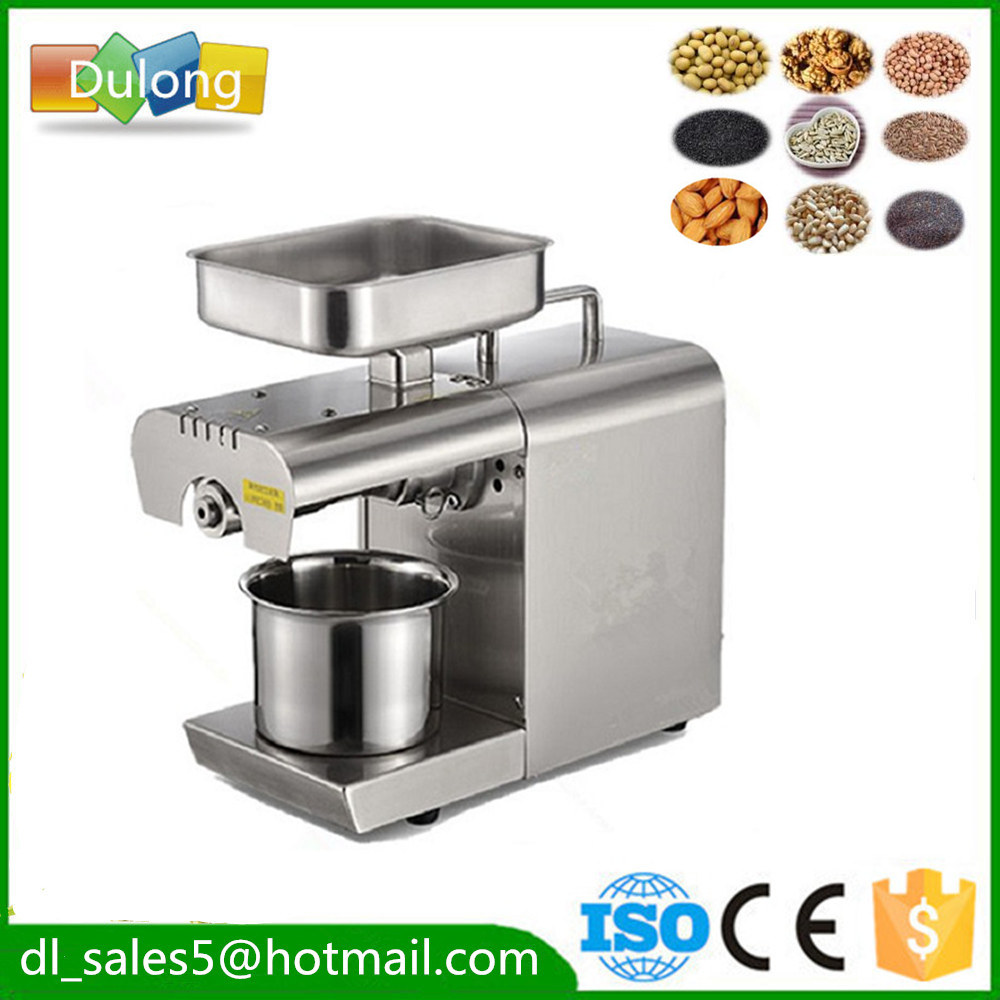 Stainless steel automatic small Home mini Oil Press Machine cold press Oil Expeller  seed oil extraction machine