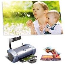 Фотобумага 3R, 4R, 5R, A3, A4, A5, A6 100 листов высокоглянцевая печать фотобумаги для струйных принтеров офисные принадлежности