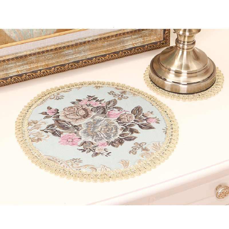 Европейская вышивка салфетки модная подставка Столовая ТАБЛИЦА стола салфетки для украшения стола аксессуары