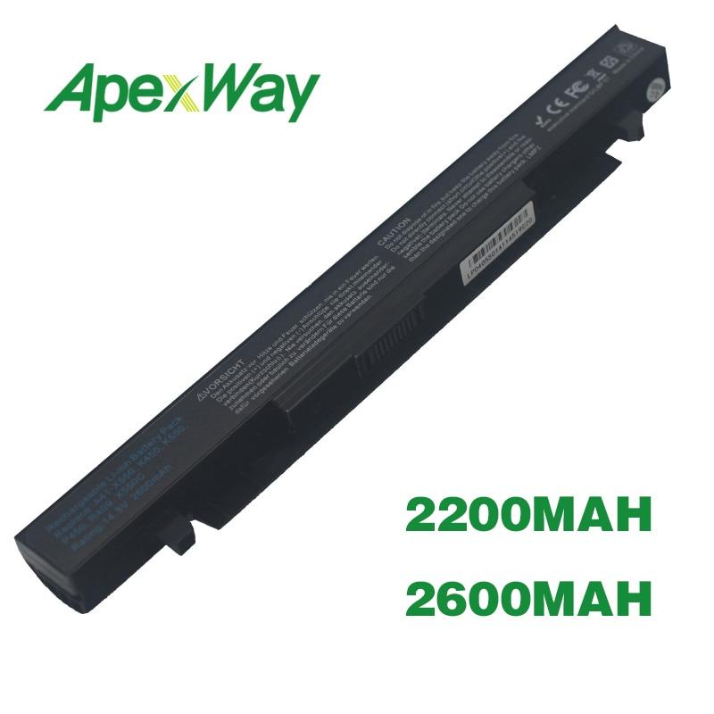 ApexWay Battery For Asus A41-X550 A41-X550A A450 A550 F450 F550 F552 K550 P450 P550 R409 R510 X450 X550 X550C X550A X550CAApexWay Battery For Asus A41-X550 A41-X550A A450 A550 F450 F550 F552 K550 P450 P550 R409 R510 X450 X550 X550C X550A X550CA