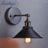 Vintage Plated Industrial Wall Lamp E27 Base Retro Loft LED Wall Light Lamparas Stair Bathroom Iron