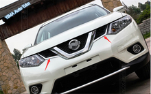ABS Front Grille Molding Cover Trim For nissan Rogue 2014 2015 / x-trail 2014-2015 цена в Москве и Питере