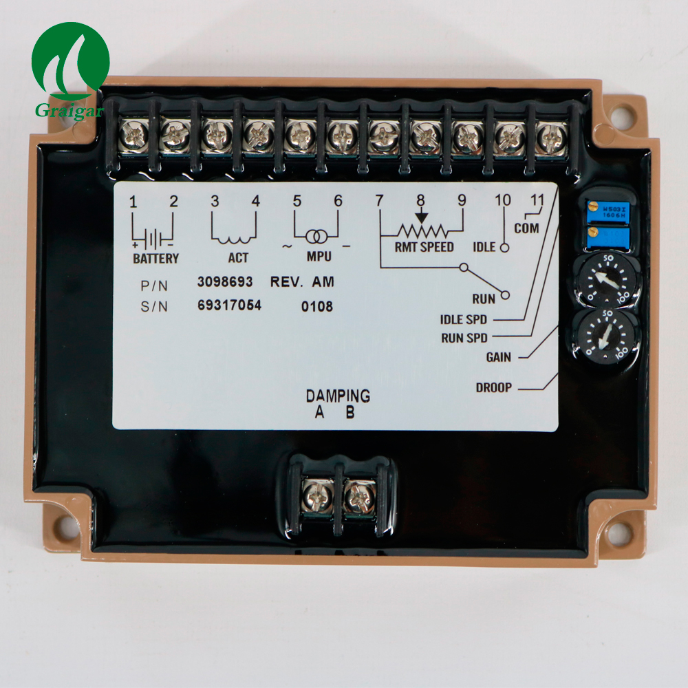 New Electronic Engine Speed Controller 3098693 Governor Speed ControlNew Electronic Engine Speed Controller 3098693 Governor Speed Control
