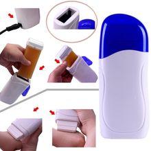 Depilatory Roll On Wax Heater Roller Waxing Cartridge Hair Removal Epilator