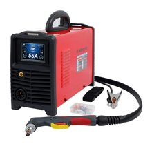 CNC LCD Digital IGBT Non-HF Pilot Arc Cut55GP Plasma Cutter Dual Voltage 120V/240V, Cutting machine Work with CNC table стоимость