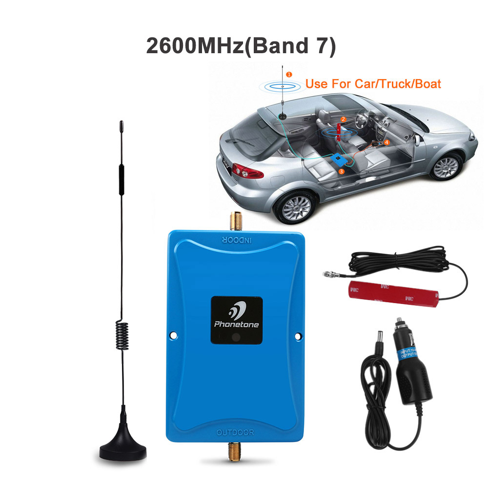 4G LTE Signal Booster 2600MHz 4G cellular booster Mini FDD 4G LTE 2600 Band 7 Gain 45dB Mobile Signal Repeater Amplifier for car4G LTE Signal Booster 2600MHz 4G cellular booster Mini FDD 4G LTE 2600 Band 7 Gain 45dB Mobile Signal Repeater Amplifier for car