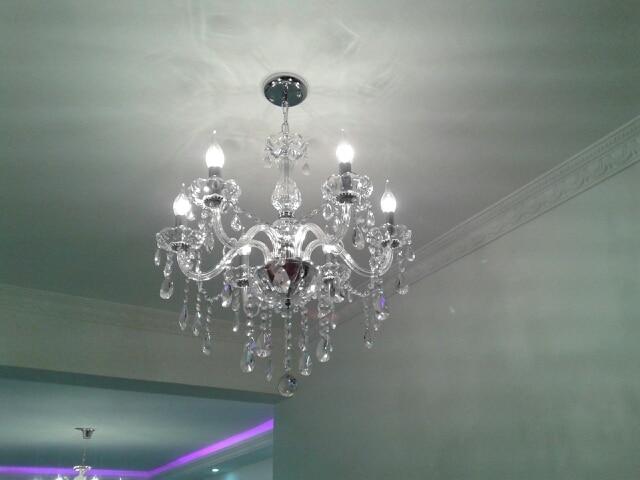 aliexpress koop moderne kristallen verlichting 6 light