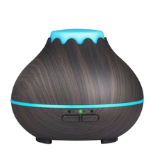 Mini Aroma Essential Oil Diffuser, 150Ml Ultrasonic Cool Mist Humidifier With Color Led Lights Changing And Waterless Auto Shu цена и фото