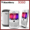 9360 Оригинал Разблокирован Curve Apollo Blackberry 9360 QWERTY 5.0MP Камера GPS WiFi Bluetooth BlackBerry OS Мобильный Телефон Бесплатная Доставка