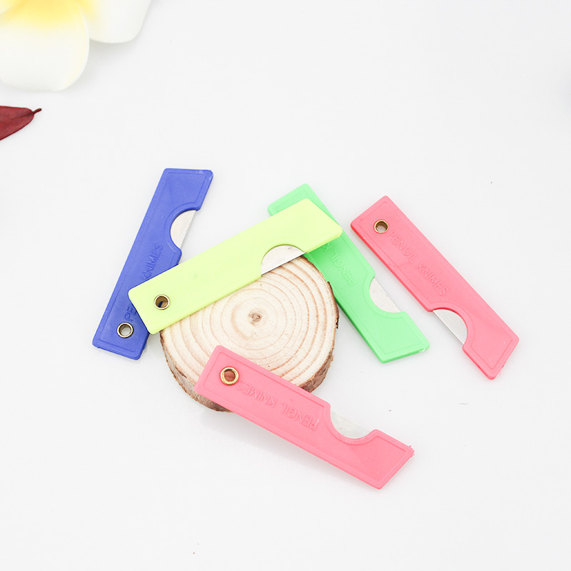 THD 5pcs/set Stationery Knife Zinc Alloy Small Size Paper Cutter Width Blades Knife School Chancery Utility Knife Cutter
