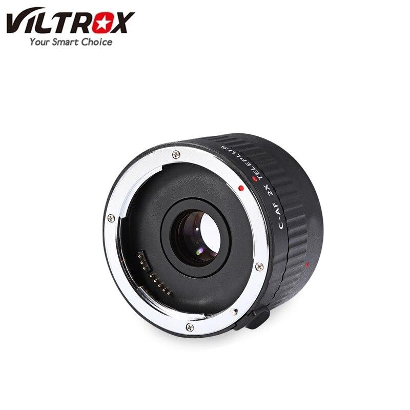 VILTROX C-AF Автоматическая фокусировка объектива телеконвертера 2x AF экстендер увеличительный объектив для объектива с байонетным креплением ...