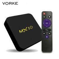 MX10 Android 7 1 2 RK3328 4GB DDR4 32GB EMMC KODI 17 4 4K HDR TV
