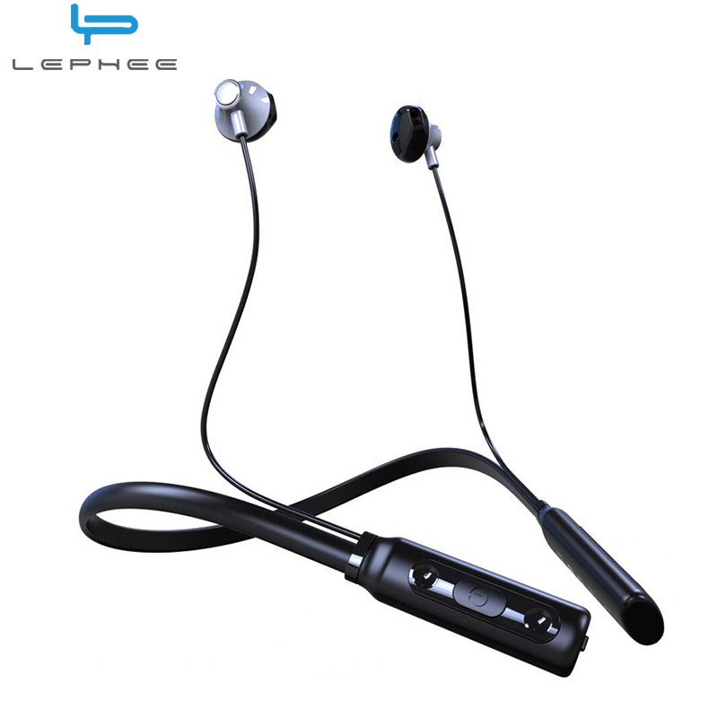 Lephee SM818 Wireless Bluetooth Headset Sport Headphone Running Stereo Earphone for Iphone 7 Samsung S8 Xiaomi 6 Oneplus 5 3t 3