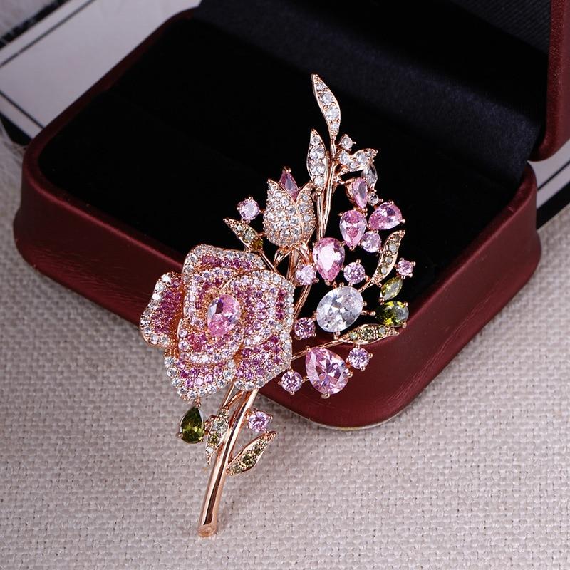 broche strass pino romântico casamento da dama de honra broches e pinos