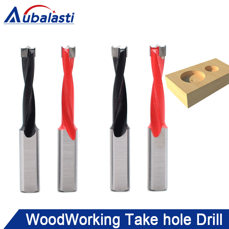 Aubalasti 4mm-9mm Wood Drill Bit 70mm Length Router Bit Row Drilling for Boring Machine Gang Drills for Wood Carbide Endmill