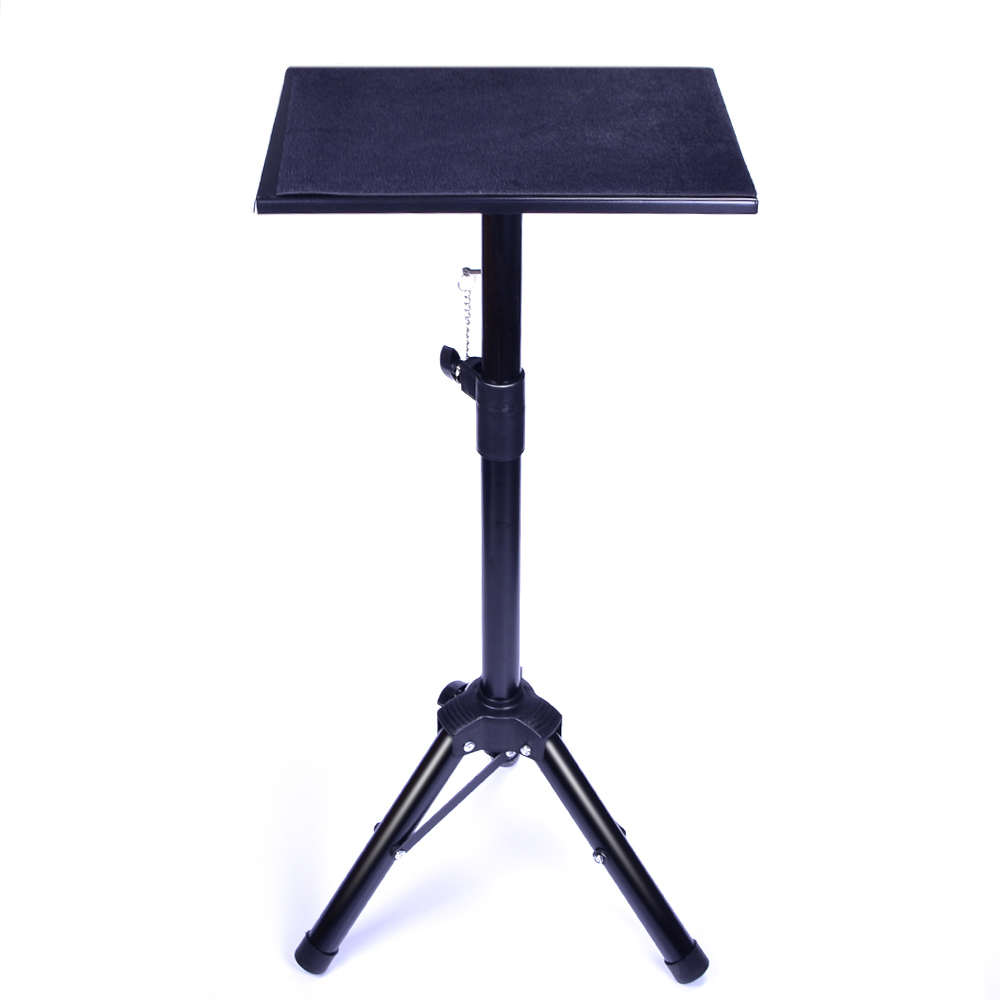 Metal Black Tripod Magic Table Magic Tricks Amazing Stage Magic Magician's Table Accessories Height Adjustable Easy To Carry Fun
