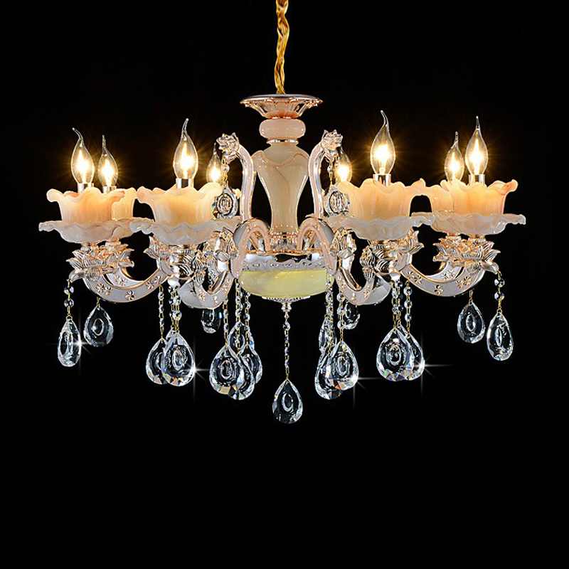 Contemporary Chandeliers Luxury Crystal light Chandelier for Living Room Art deco Large chandelier Traditonal Chandeliers Lamp vintage clothing store personalized art chandelier chandelier edison the heavenly maids scatter blossoms tiny cages