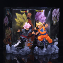 Anime hand do model dragonball soul soul x black wukong fight PVC box furnishing articles