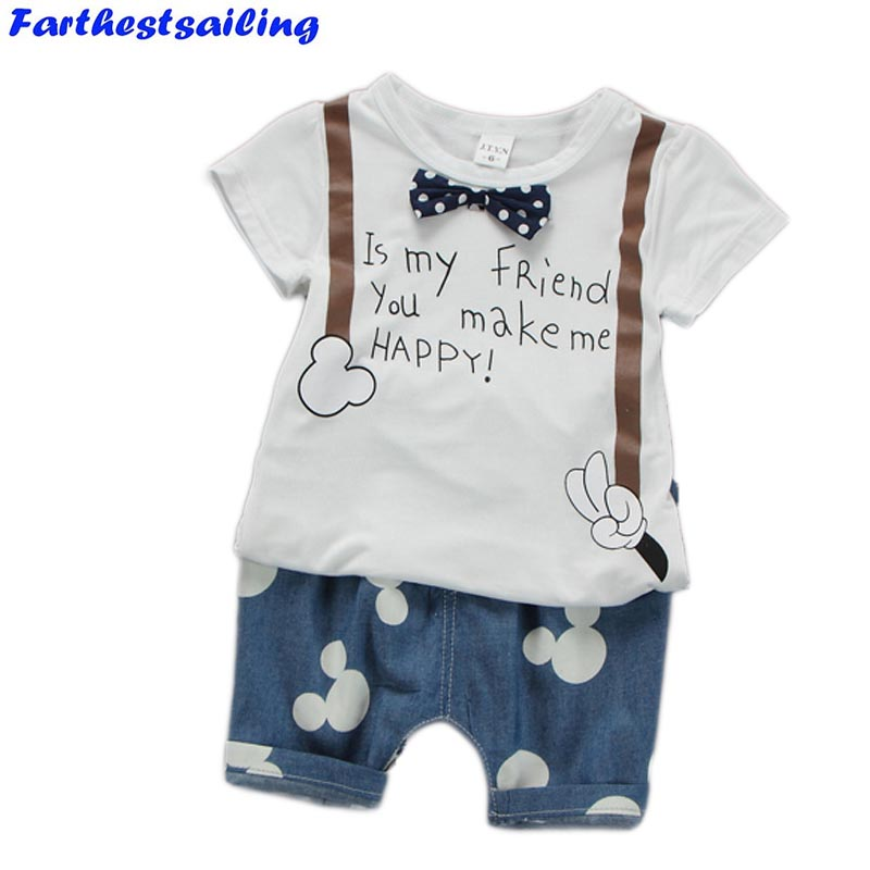 Toddler Boys Clothing Set 2018 Summer New Baby Suit t-Shirt Shorts 1 2 3 4 Years Children Kid Clothes Suits Bebe Infant Clothing baby boys suits clothes gentleman suit toddler boys clothing infant clothing wedding birthday cotton summer children s suits