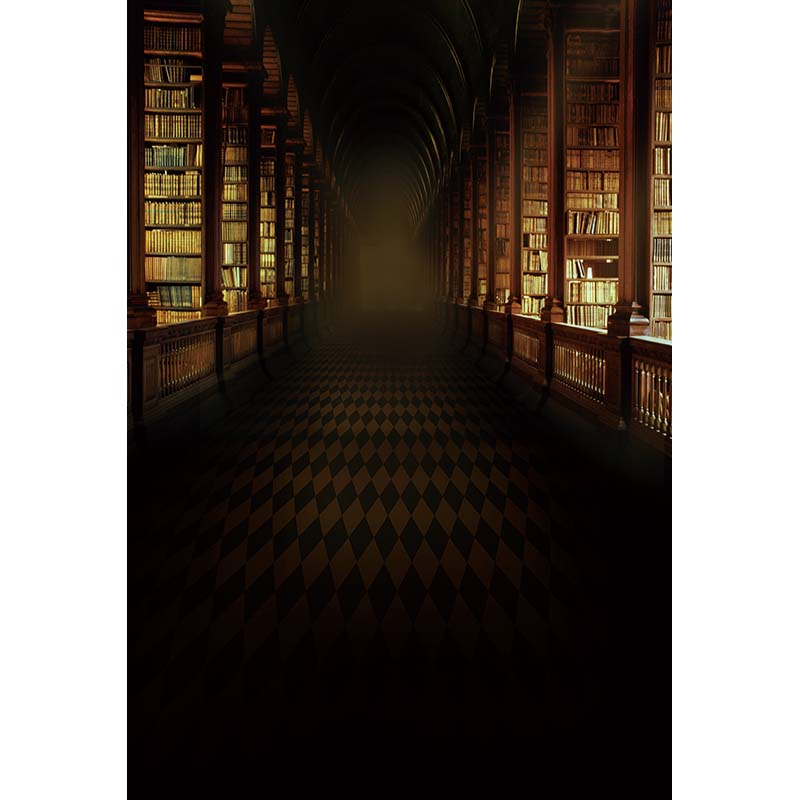 Vintage library photography backdrops students photo background for photo studio photography background photocall