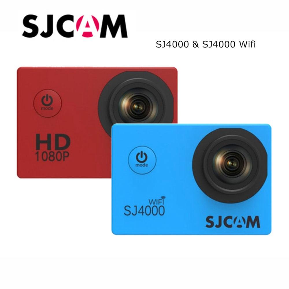 Original New SJCAM SJ4000 SJ4000 Wifi Action Camera 1080P HD 2.0 LCD sicam sj4000 series Sports Camera for extreme sports original sjcam 4000 series sj4000