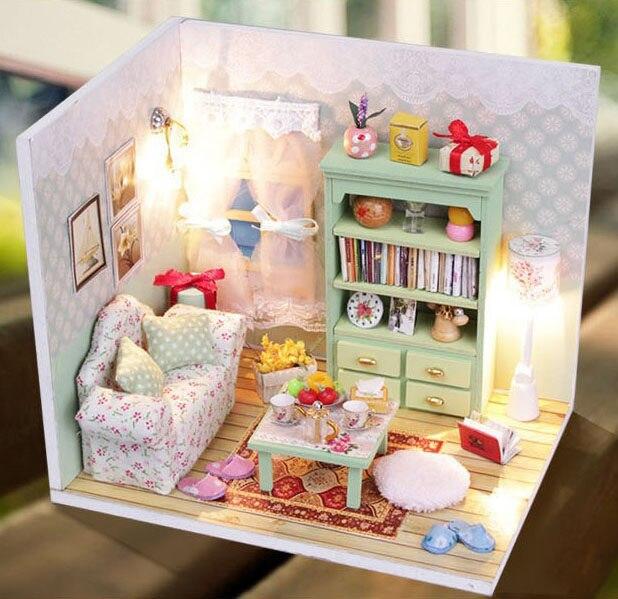 Tienda Online Original 3D DIY montar tiempo perezoso blanco salón ...