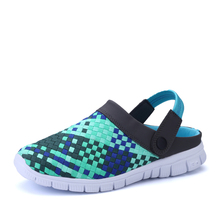 Nice Summer New Men Women hand made flats Shoes Fashion Breathable Mesh Leisure Shoes Unisex Couples Casual Shoes Zapatos Pop