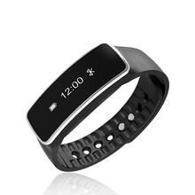 Bluetooth Smart Браслет Спорт Водонепроницаемый пульсометр браслет фитнес-трекер Android браслет