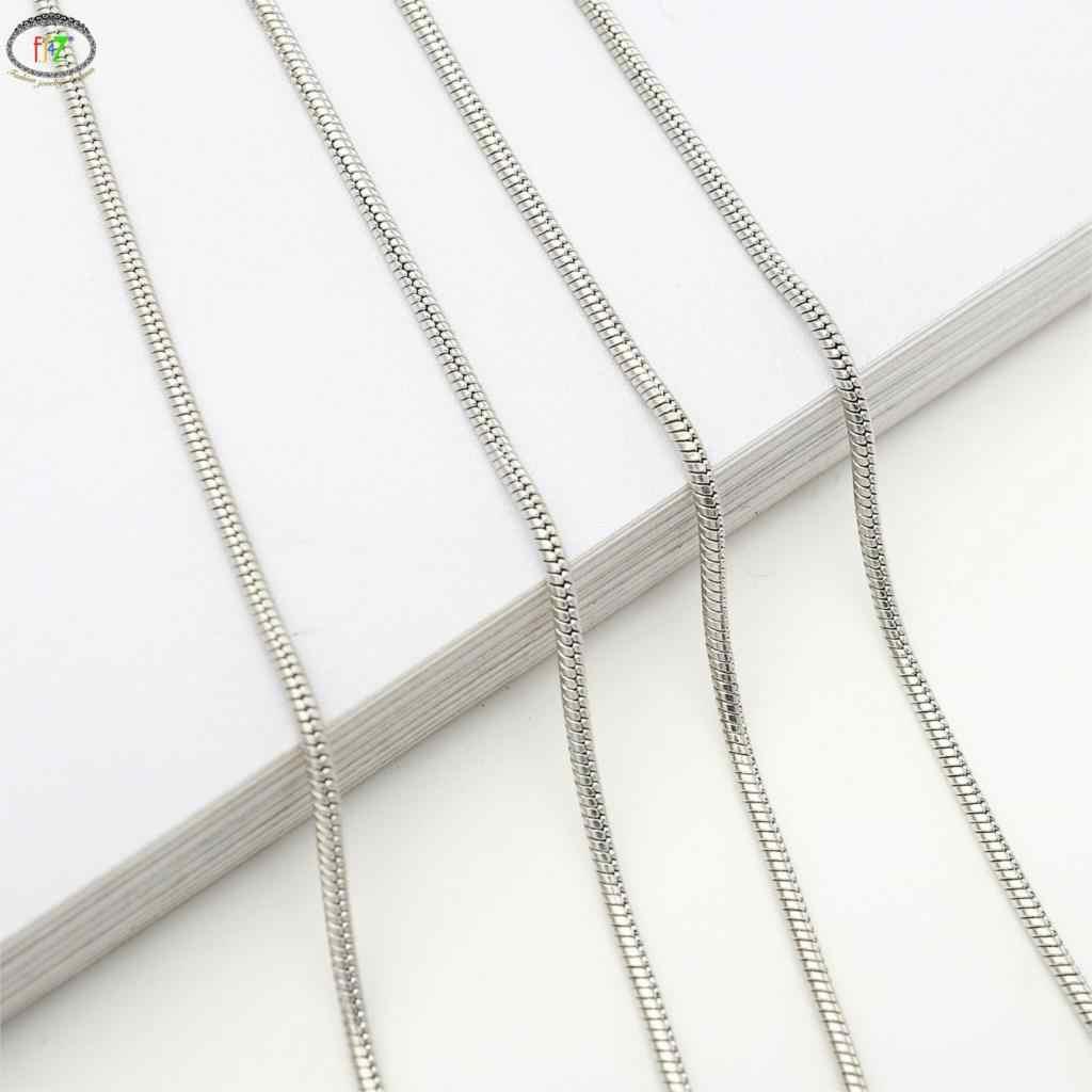F. j4Z Hot heren Bril Houders Fashion 1.2mm Dikke Gouden Zilver Kleur Snake Chain Zonnebril Lanyard voor Vrouwen Eyewear bandjes