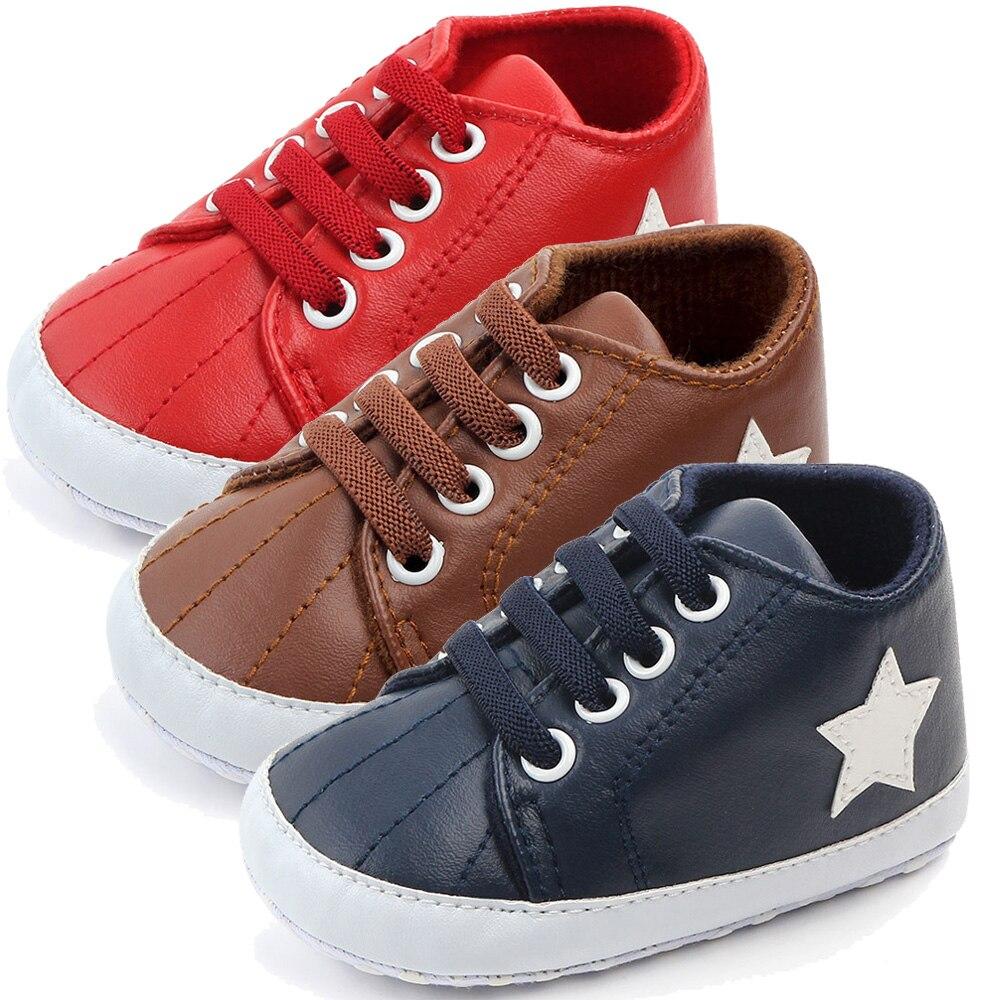 Pentagram Baby Shoes 2019 Newborn Babies First Step Walking Prewalker For New Born Infant Toddler Girls Baby Boy Shoe