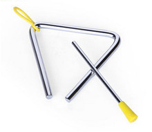 New Baby Toys Carl Orff Children Percussion Triangle Baby Music Educational Toys Baby Gifts